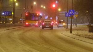 Śnieżyca sparaliżowała stolicę. Ogromne utrudnienia w komunikacji