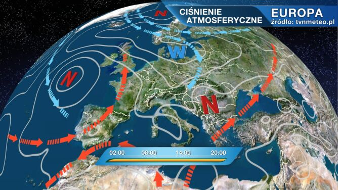 Do Polski napłynie umiarkowanie chłodne powietrze