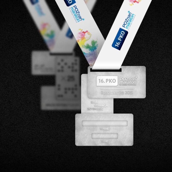 Rewers medalu 16. PKO Poznań Maraton