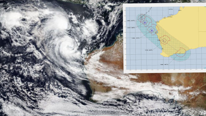 """Cyklon Seroja zagraża Australii. <br />""""Sytuacja jest bardzo poważna"""""""
