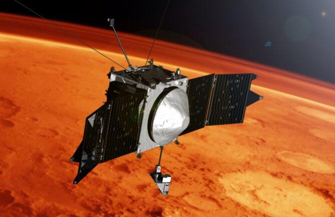Sonada MAVEN bada Marsa z poziomu orbity (NASA's Goddard Space Flight Center)