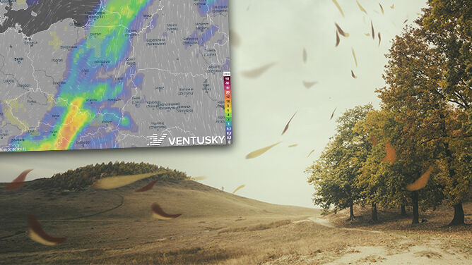 Wietrznie, miejscami deszczowo. <br />Termometry pokażą nawet 18 stopni