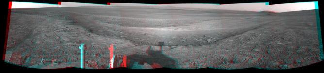 2012 rok. Opportunity w kraterze Endeavour (NASA)