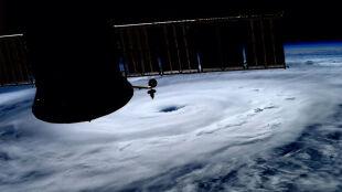 Pierwszy w tym roku huragan na Atlantyku. Tak wygląda z kosmosu