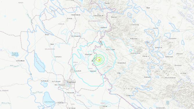 Trzęsienie ziemi w Iranie. Kilkadziesiąt osób zostało rannych