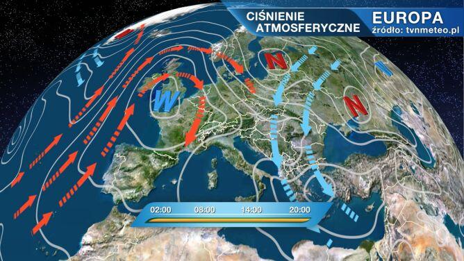 Nad Polską przejdzie front atmosferyczny