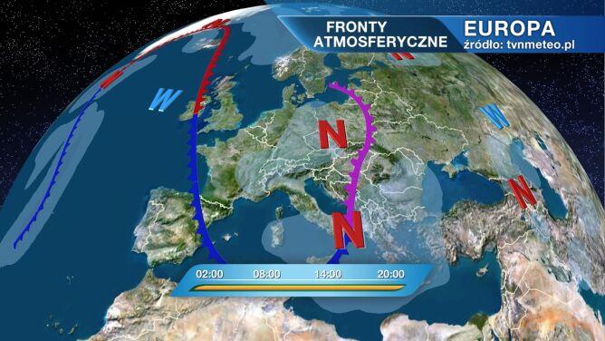 Niż znad Bałkanów przyniesie zimno i wilgoć