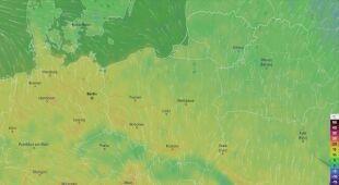 Prognoza temperatury w najbliższych dniach (ventusky.com)
