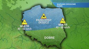 Warunki drogowe w piątek 13.03