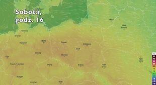 Temperatura w kolejnych dniach (Ventusky.com | wideo bez dźwięku)