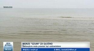 Morze w Świnoujściu zbyt głośne?