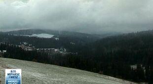 W Tatrach spadł śnieg (TVN24)
